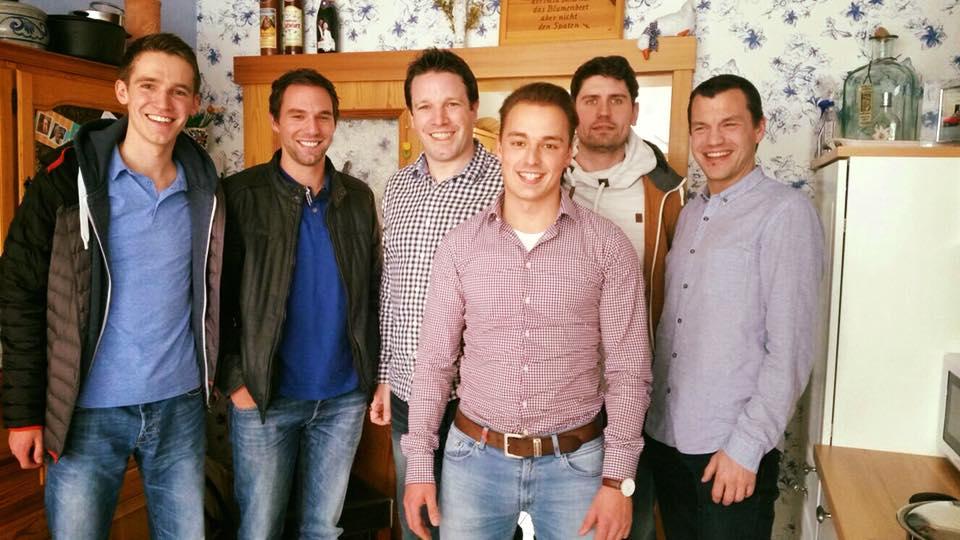 v.l.n.r.: Fabian Mohr, Mario Schmidt, Alexander Müller, Fabian Schneider, Richard Kochanetzki, Markus Wotzlawek
