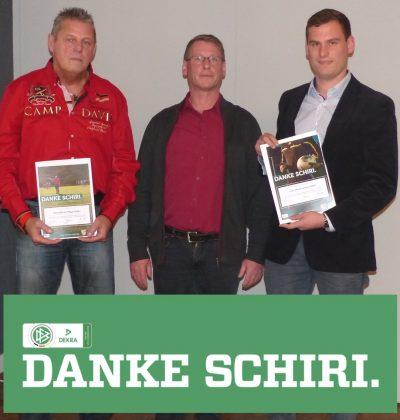 DANKE-SCHIRI: Jean-Marie Lantau und Hans-Werner Mayer geehrt