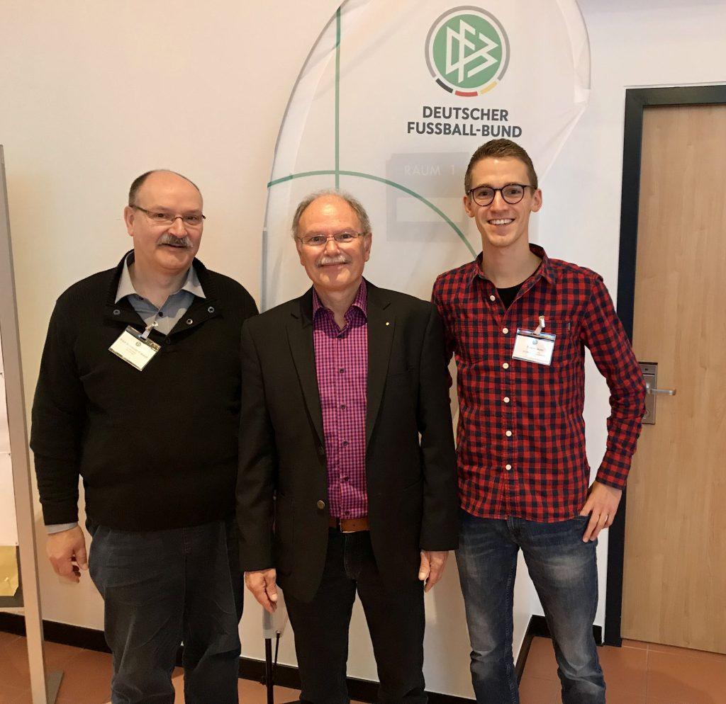 v.l.n.r. Ulrich Schneider-Freundt, Erich Schneider, Fabian Mohr