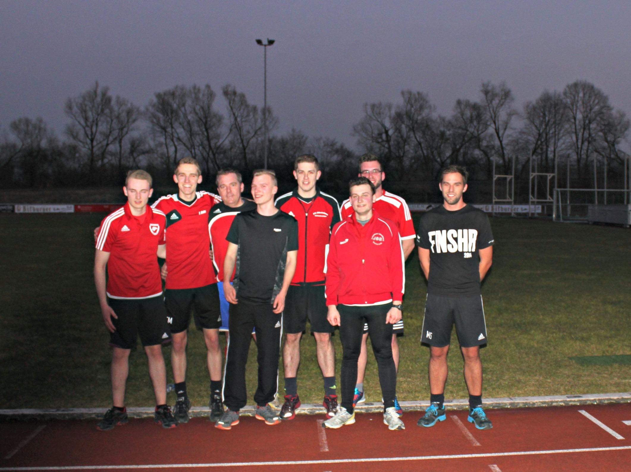 Ein Teil der überkreislichen Schiedsrichter im Rahmen der diesjährigen Frühjahrsfortbildung (März 2016)